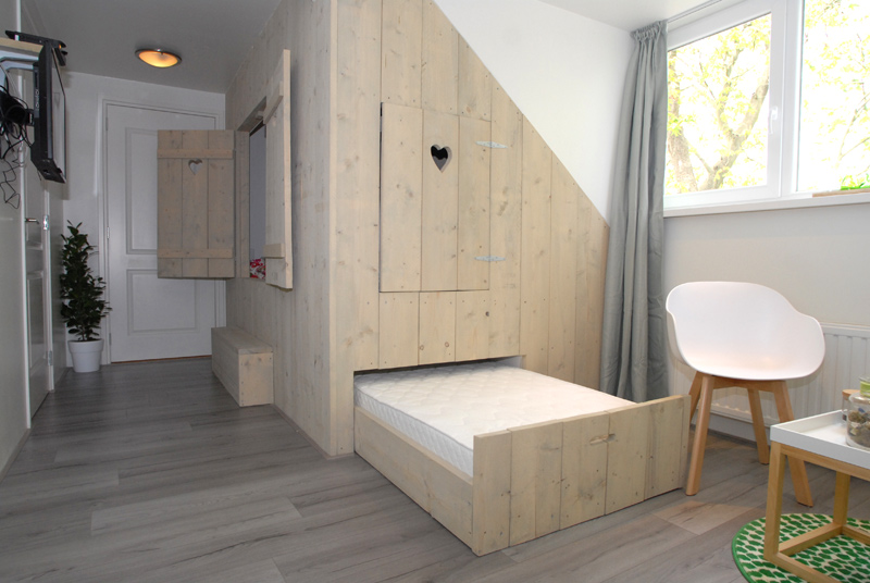 Kamer zweiland - Kamer van rustieke chic badkamer ...